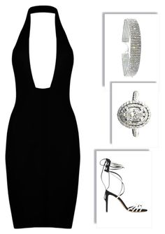 back with black by sexiroseberry on Polyvore featuring polyvore fashion style Alexandre Vauthier clothing