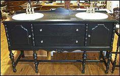 double antique bathroom vanity from canton antiques double sink bathroom master bathroom bathroom vanities
