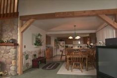 Step-by-step instructions showing how to build and install a post and beam archway from standard planks.