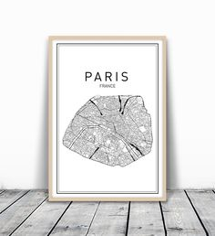 Paris Map Print, Paris Map, Map Art, Map of Paris, City Map Wall Art, Paris Map Art, France City, France Map Print, City Map, Map Wall Art, France Wall Art, Modern Art Print, Black Wall Print, 8x10. MotivatedWallArt offers prints on a variety of themes, which gives a modern look to your home. All designs are printed on 250 GSM quality card stock, and mailed in cardboard mailer envelope. The size is 8 x 10 inch and printed to the edge. Please note that frame is not included.
