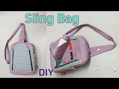 슬링백 만들기/백팩만들기/가방 만들기/Speedwell Sling Bag/Make a . Diy Bags Purses, Diy Purse, Woven Beach Bags, Patchwork Quilt, Free Crochet Bag, How To Make Purses, Paper Gift Bags, Bag Patterns To Sew, Sewing Patterns