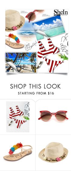 """""""Summer is here"""" by deni1977 ❤ liked on Polyvore featuring Sam Edelman and Joe Browns"""