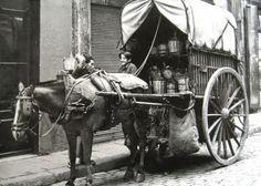1889 - repartidor de vino y vinagre a domicilio: