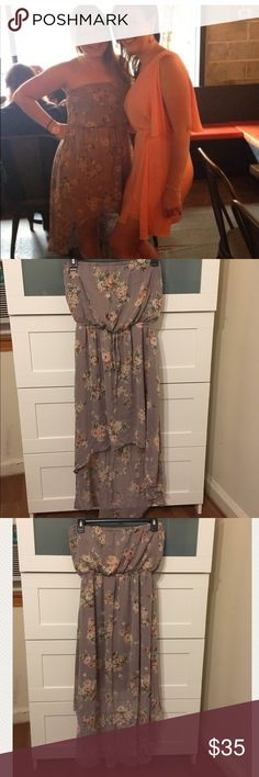 Like new! High-low dress -Size S - American Rag American Rag High-low dress - Size S.. has only been worn a few times.. very light! great condition! American Rag Dresses High Low