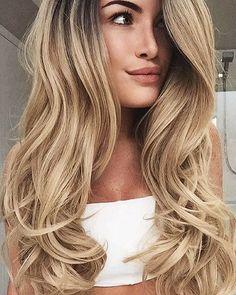 Coiffure Hair, Great Hair, Trendy Hairstyles, Gorgeous Hairstyles, Hair Day, Rapunzel, Hair Goals, Her Hair, Blonde Hair