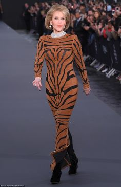 Easy tiger!However, it was actress Jane Fonda who truly stole the show at the event - sho...