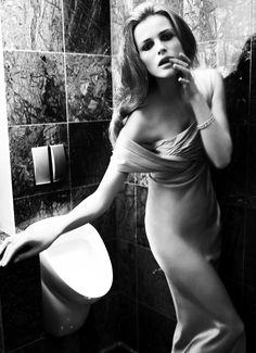 Edita Vilkeviciute by Mario Testino for Vogue Germany June 2008