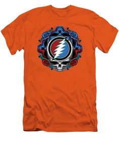 c6e7520a Steal Your Face Men's T-Shirt (Athletic Fit) featuring the digital art Steal