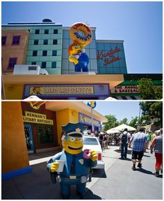 Springfield — a recreation of the home of The Simpsons — is guaranteed to captivate kids with fun spots like Lard Lad Donuts. | 33 Insider Tips For Taking Your Kids To Universal Studios Hollywood