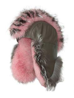 e4ee49c63132fc GIGI BURRIS MILLINERY Fur trapper hat Fox Hat, Vogue Fashion, Fashion 2018,  Luxury