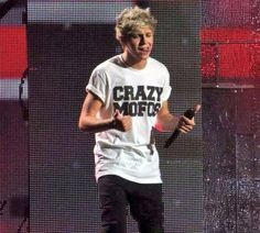 Niall Horan... the only celebrity I know of to make a shirt for his own fandom.