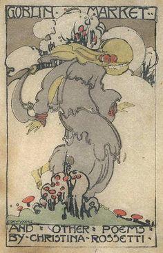 fletchingarrows:  The Goblin Market, Jessie M. King