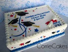 Graduation cake by CorrieCakes