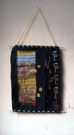 Small wallhanging, wool Elf, Wool, Handmade, Bags, Fashion, Handbags, Moda, Hand Made, Fashion Styles