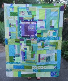 crazy mom quilts: scrappy Sundays pattern: I think I'm in love ;-)