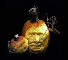 Pumpkincarvingshalloween Art Pinterest Pumpkin Carvings - Mind blowing pumpkin carvings by ray villafane 2