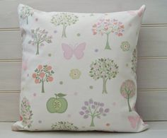 Butterfly Cushion Cover  throw pillow cover   by GreenCallow