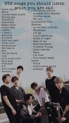 Bts songs you should listen when you are sad🖤 Bts Song Lyrics, Bts Lyrics Quotes, Bts Qoutes, Bts Theory, Bts Wallpaper Lyrics, Bts Group Picture, Bts Aesthetic Wallpaper For Phone, I Need U, Bts Bulletproof