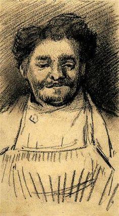 La testa di una donna di Vincent Van Gogh