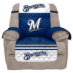 MLB Milwaukee Brewers Recliner Slipcover