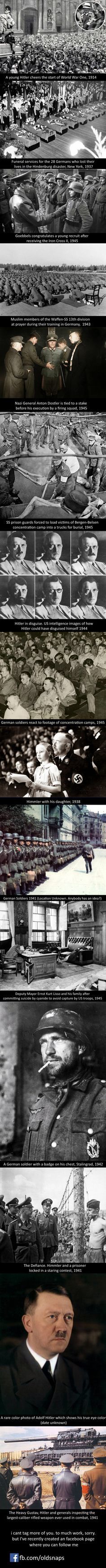 Old snaps you have to see. Part NAZIS. Imagine if he fought to unite people instead of segregation, we would be a peaceful world History Photos, History Facts, History Weird, History Essay, Ww2 History, Old Pictures, Old Photos, Weird Facts, Fun Facts