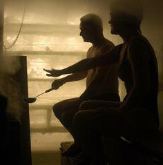 In the ice sauna: Photo courtesy of Visit Finland © MEK Finnish Tourist Board. Sauna House, Finnish Sauna, Tourist Board, The Ordinary, Finland, Countryside, Relax, Swimming, Saunas