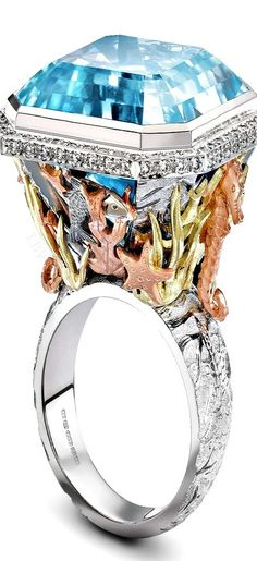 The Theo Fennell Under the Sea ring | LBV ♥✤