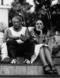 Picasso and Dora Maar...   Man Ray
