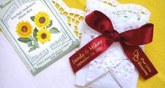Sunflower Wedding Favor
