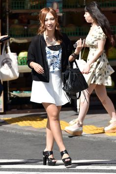 CA & Associates, inc.'s media statistics and analytics Street Snap, Feather Print, Your Girlfriends, Collar Shirts, Girl Power, Asian Beauty, Sequin Skirt, Mini Skirts, Bodycon Dress