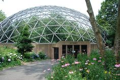 Queens Zoo Aviary designed by TC Howard of Synergetics, Inc