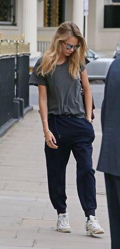 nice Cara | gosh, those pants! #style #StreetStyle...