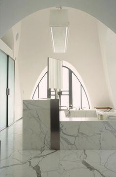 CHRISTIAN LIAIGRE definitely a bathroom worth dreaming about......i love the marble...so luxurious.