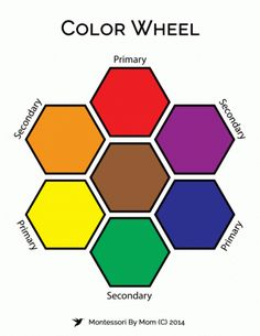Free Color Wheel Printables from Montessori By Mom (affiliate)