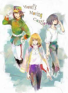 Howl Jenkins Pendragon ☆ Howl ( ハウル ) ☆ Howl's Moving Castle ( ハウルの動く城 ) ☆ Studio Ghibli ( スタジオジブリ )☆ Hayao Miyazaki ( 宮﨑 駿 )