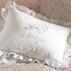 I pinned this PS I Love You Pillow from the Taylor Linens event at Joss and Main!