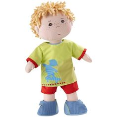 Haba toys Little Scamp Michael soft doll - dressing up dolls for children