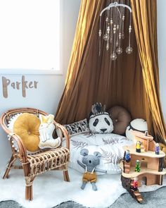 A dream child's room – Shabby Chic Decor Ideas Shabby Chic Bedroom Furniture, Bedroom Decor, Bedroom Ideas, Baby Room Design, Baby Decor, Kids Furniture, Furniture Dolly, Unique Furniture, Kids Bedroom