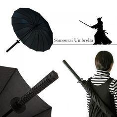 Parapluie Samouraï Katana. Kas Design, distributeurs de produits originaux