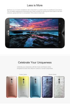 "ASUS ZenFone 2 ZE551ML Intel Z3560 Android 5.0 Quad Core 4G Phone w/ 5.5"" FHD, 4GB + 32GB - Gray - Free Shipping - DealExtreme"