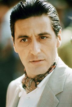 The Covered Neck. Al Pacino, 1974.