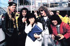James Hetfield, Kirk Hammett, & Jason Newsted