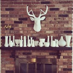 I'm thinking of doing something like this! I have a spot next to my little wood burning stove along the brick wall. I'm just trying to decide which one!