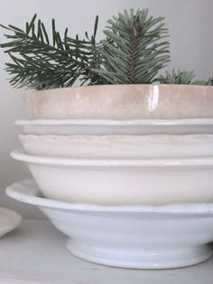lovely white ironstone