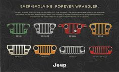 Jeep Grills - fit on a Twizy with a hood? Jeep Wrangler Yj, Jeep Wrangler Unlimited, Jeep Jku, Chevy, Jeep Grill, Jeep Wave, Cool Jeeps, Jeep Models, Jeep Cherokee