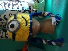 minion hat by CraftyDiva23 on Etsy