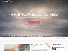 MoneyFlow   Perfect #WordPressTheme For Serious Money Makers