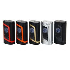 The Alien 220 MOD, same box mod as that from Alien kit, has a max 220w output. With the big OLED display, you can check the working mode, coil and battery easily. And various modes will meet your demand of using different coil wires.