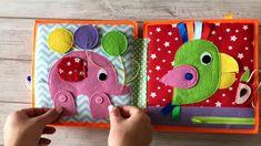 Diy Busy Books, Diy Quiet Books, Baby Quiet Book, Felt Quiet Books, Quiet Book For Toddlers, Infant Activities, Book Activities, Indoor Activities, Summer Activities