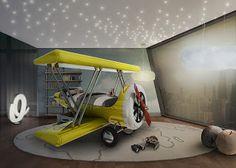 Marzua: Avión Flytastic de Circu. La cama temática para ni...